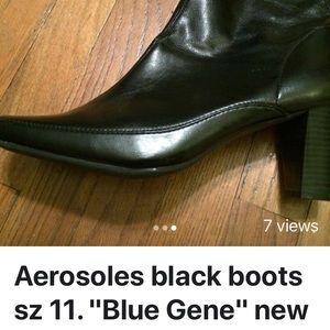 Aerosoles sz 11 booties black brand new
